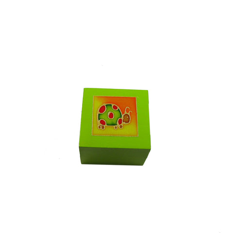 Tea Light Box - Polka Dot Turtle