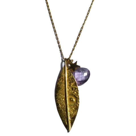 Leaf Long Necklace