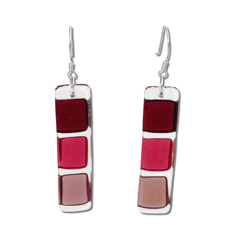 LMOL Glass Earrings - Cherry