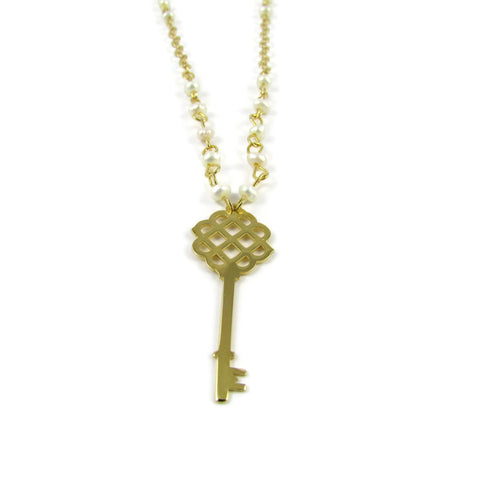 Key Gold Necklace