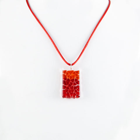 Picado Mini Pendant - Red