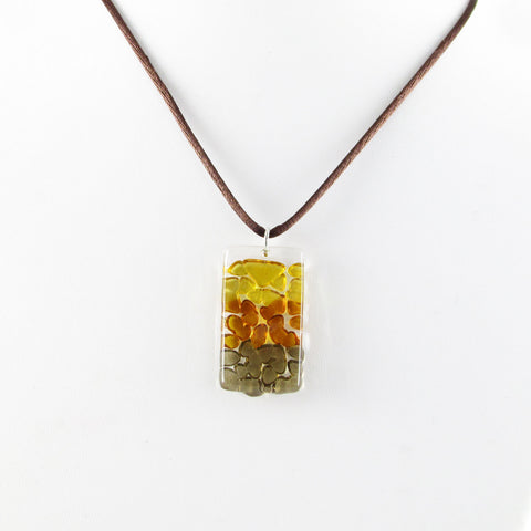 Picado Mini Pendant - Amber