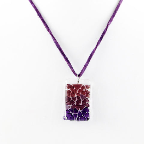 Picado Mini Pendant - Purple