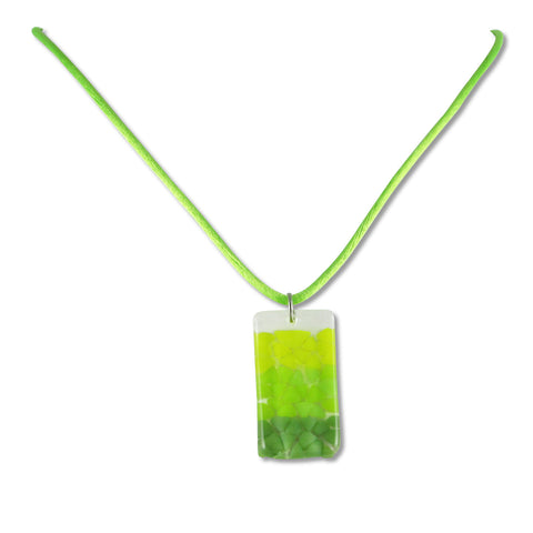 Picado Mini Pendant - Lime