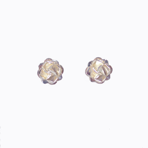 Small Rose Earrings - 2 Styles
