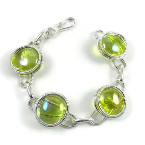 Infinity Bracelet - Crystal Yellow