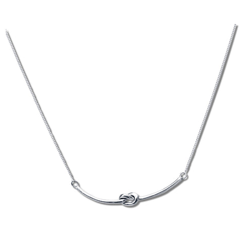 Simple Knot Necklace