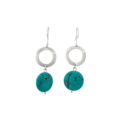 Thea Earrings - Turquoise