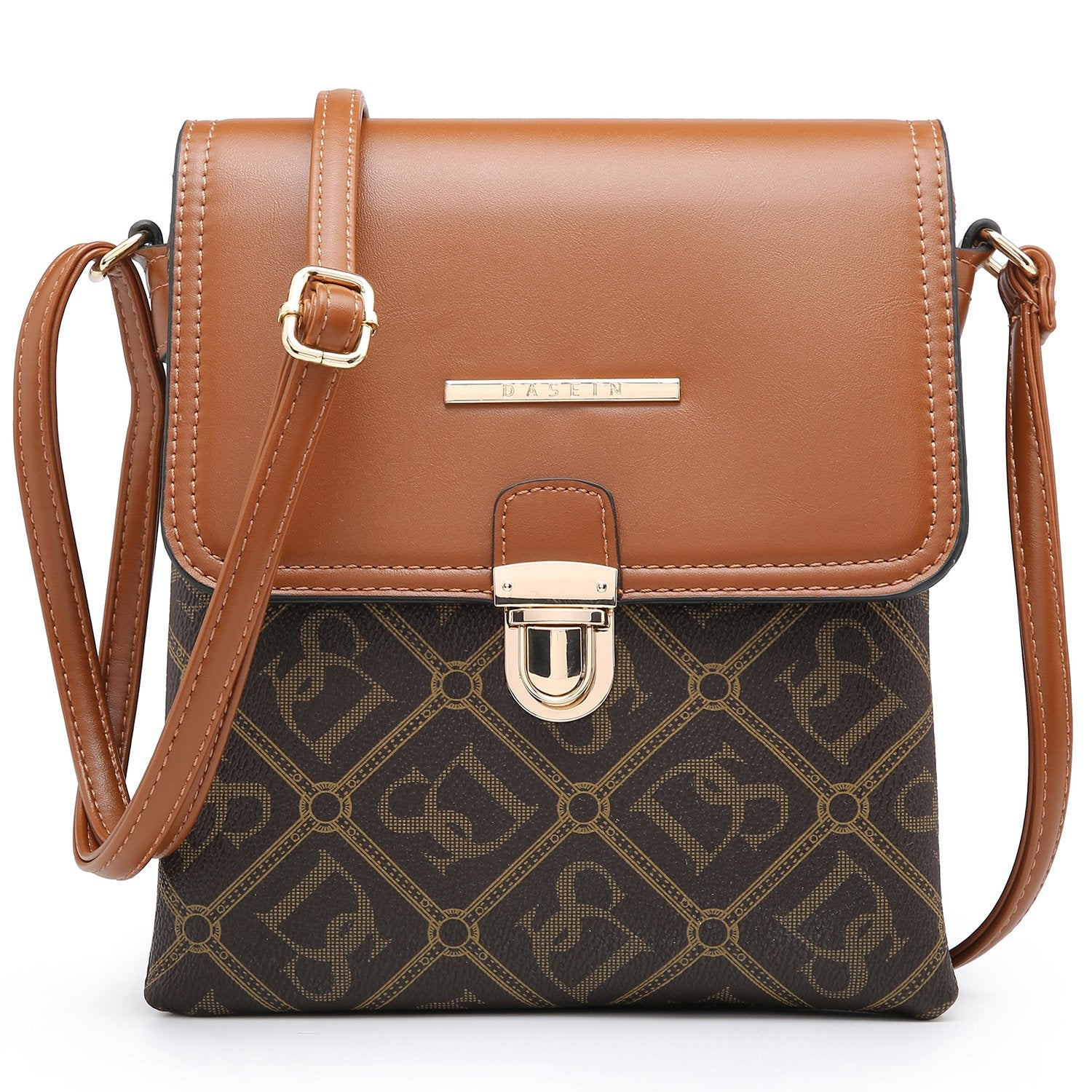 Fashion Monogram Flap Crossbody Bag