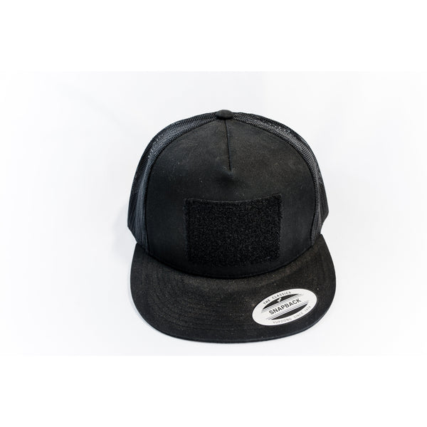 brUTE Patch Hat - Black on Black Mesh