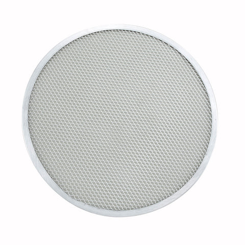 Winco APZS-16 16 Inch Seamless Aluminum Pizza Screen