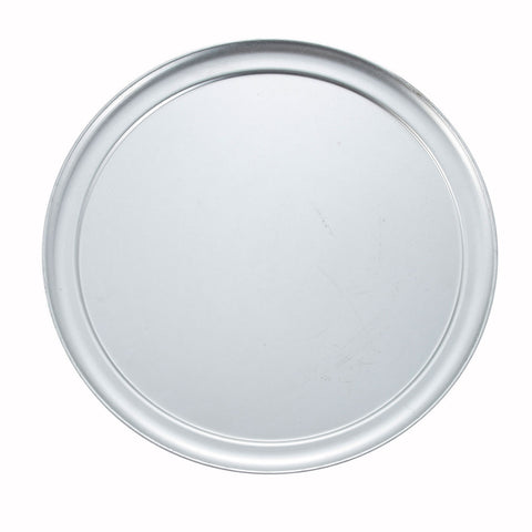 Winco APZT-16 16-Inch Aluminum Pizza Tray with Wide Rim - Kentucky Restaurant Supply