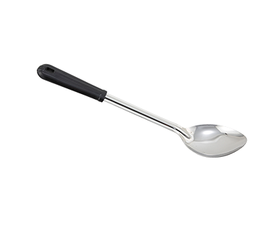"Winco BSOB-13, 13"" Solid Basting Spoon, Bakelite Handle - Kentucky Restaurant Supply"