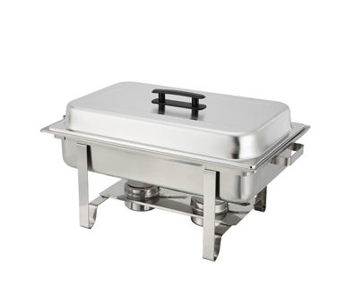 Winco C-3080B Newburg 8 Quart Full-size Chafer