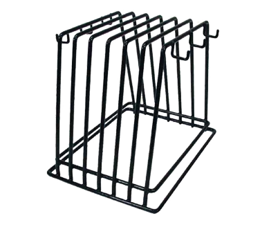 Winco CB-6K, Cutting Board Rack, 6 Slots, Vinyl Coated - Kentucky Restaurant Supply
