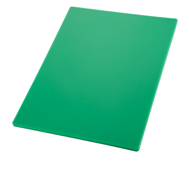 "Winco CBGR-1218, 12"" x 18"" Green Cutting Board - Kentucky Restaurant Supply"