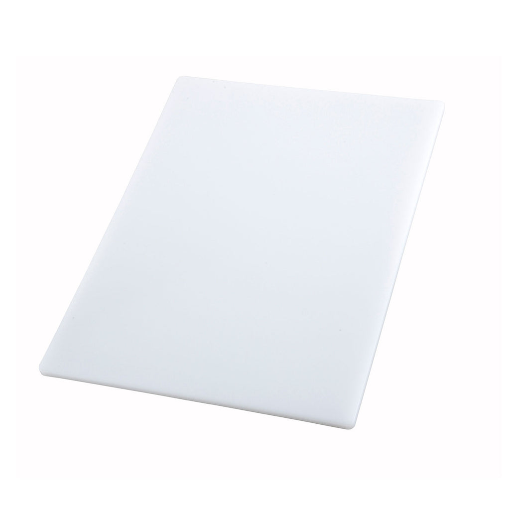 Winco CBWT-1520 15 x 20 White Cutting Board - Kentucky Restaurant Supply