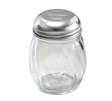 Winco G-108, Cheese Shaker, 6oz, Slotted Top