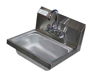 Serv-Ware HS15-CWP Wall Mount Hand Sink - Kentucky Restaurant Supply