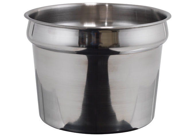 Winco INS-11.0M 11 qt Inset, Heavy Weight Stainless