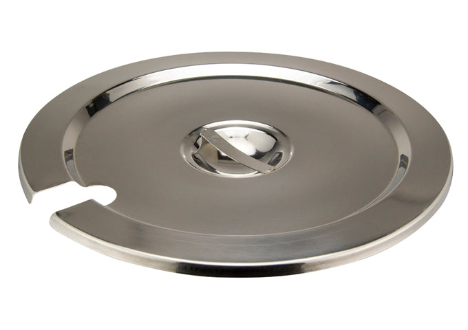 Winco INSC-11M Inset Cover for 11 qt, Heavy Weight Stainless