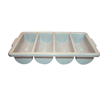 Winco PL-4B 4 Compartment Cutlery Bin - Kentucky Restaurant Supply