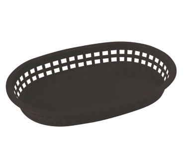 Winco PLB-K Platter Baskets Black - Kentucky Restaurant Supply