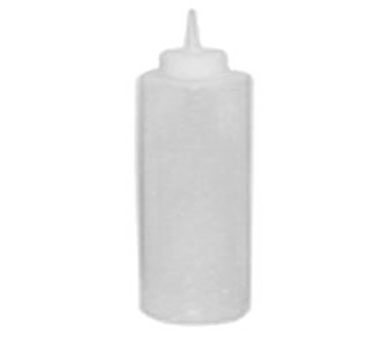 Winco PSB-24C, 24oz Squeeze Bottles, Clear - 6 pack - Kentucky Restaurant Supply