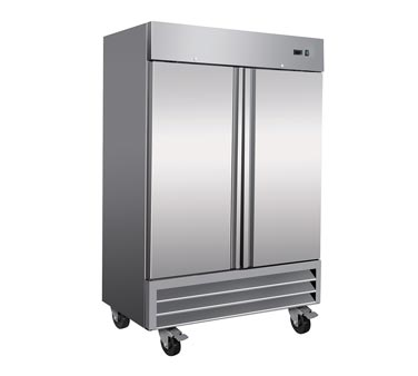 Serv-Ware RR-2 Two Door Reach-In Refrigerator - Kentucky Restaurant Supply