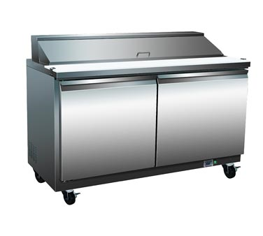 Serv-Ware SP48-12 Refrigerated Counter Sandwich Top - Kentucky Restaurant Supply