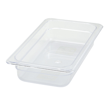 "Winco SP7302 1/3 Size Food Pan 2-1/2"" - Kentucky Restaurant Supply"