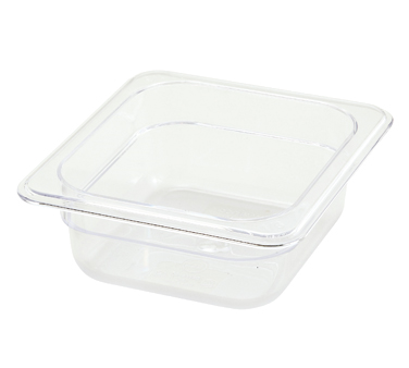 "Winco SP7602 1/6 Size Food Pan 2-1/2"" - Kentucky Restaurant Supply"