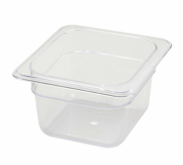 "Winco SP7604 1/6 Size Food Pan 3-1/2"" - Kentucky Restaurant Supply"