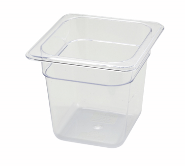 "Winco SP7606 1/6 Size Food Pan 5-1/2"" - Kentucky Restaurant Supply"