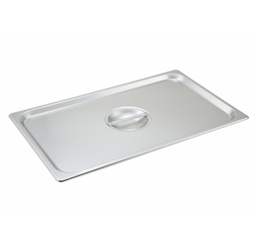 Winco SPSCF, S/S Steam Pan Cover, Full-size, Solid