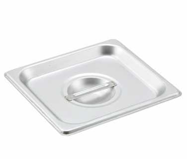 Winco SPSCS, S/S Steam Pan Cover, 1/6 Size, Solid