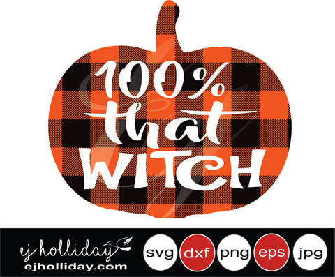 100 that witch 19 svg eps png dxf jpeg jpg vector Graphic Design Digital Cutting File Instant Download Cameo Silhouette Cricut