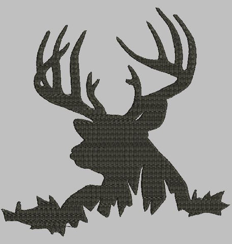 Big Buck Machine Embroidery Design
