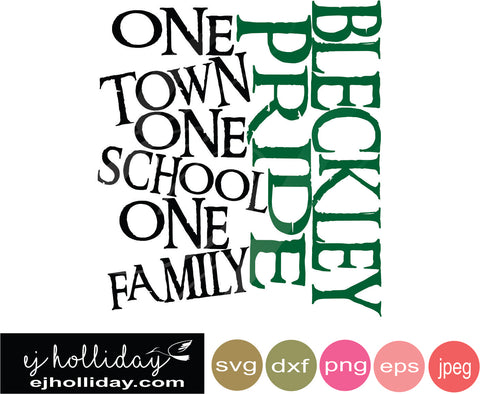 Bleckly Pride SVG EPS DXF JPG JPEG VECTOR Graphic Design Digital Cutting File Instant Download Cameo Silhouette Cricut