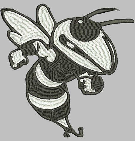 Hornet Embroidery Design Instant Download Simply Southern Legend
