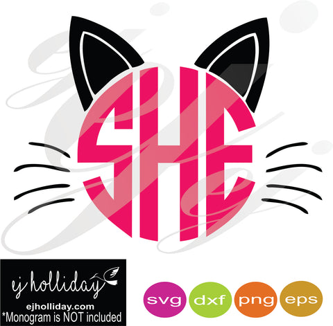 Happy Cat a Ween SVG EPS DXF PNG VECTOR Graphic Design Digital Cutting File Instant Download Cameo Silhouette Cricut