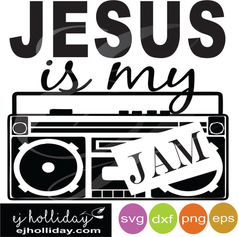 Jesus is my jam DC svg dxf eps png Vector Graphic Design Digital Cutting File Instant Download Cameo Silhouette Cricut