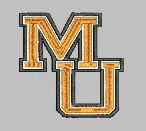 Mercer University MU Embroidery Design Instant Download Simply Southern Legend