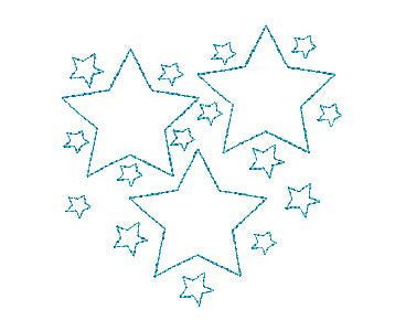 QUILTING STAR Machine Embroidery Design 4X4