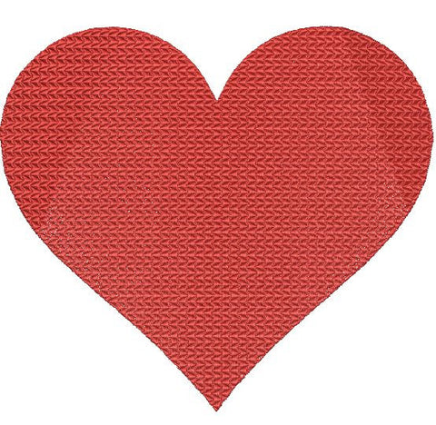 Red Heart Machine Embroidery Design 4X4 5X7 6X10 8X12