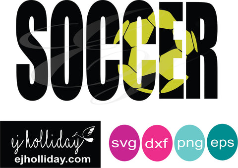 Soccer Knockout svg dxf eps png Vector Graphic Design Digital Cutting File Instant Download Cameo Silhouette Cricut