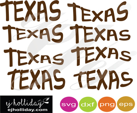 Texas curved SVG EPS DXF PNG VECTOR Graphic Design Digital Cutting File Instant Download Cameo Silhouette Cricut