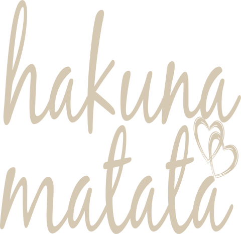 hakuna matata SVG EPS DXF PNG VECTOR Graphic Design Digital Cutting File Instant Download Cameo Silhouette Cricut