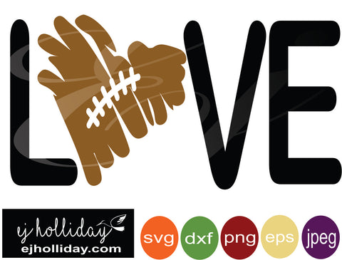 love football heart 18 svg eps png dxf jpeg jpg digital cutting file