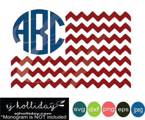 monogram chevron flag 19 SVG EPS DXF JPG JPEG VECTOR Graphic Design Digital Cutting File Instant Download Cameo Silhouette Cricut